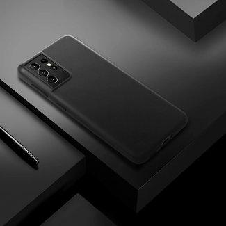 MSS Samsung Galaxy S21 Ultra TPU Matte Black back cover