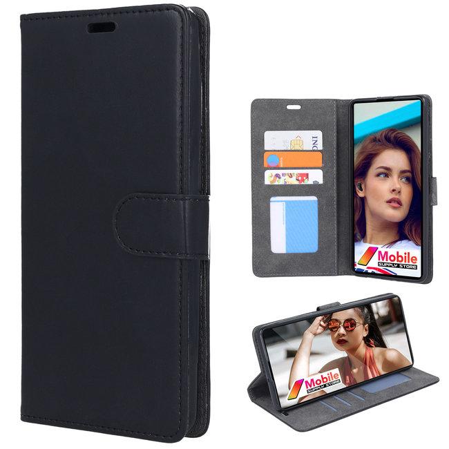 MSS Samsung Galaxy S21 TPU/Cushion Leather Book Case
