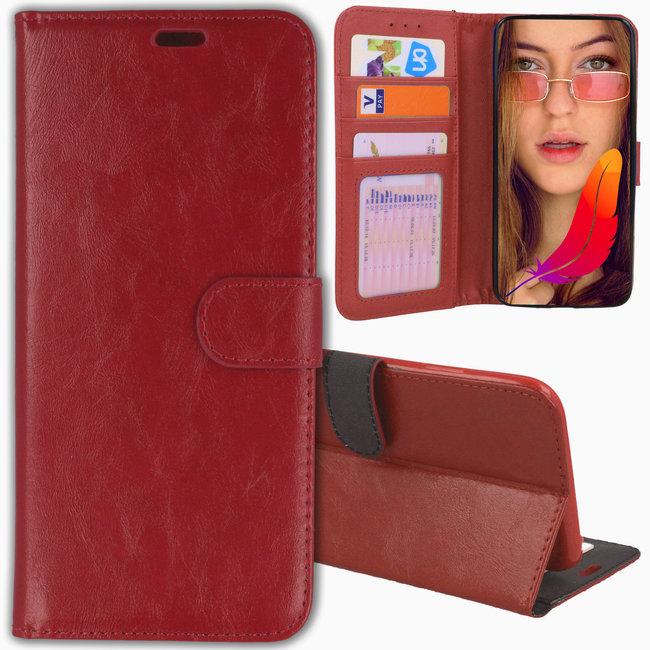 MSS Apple iPhone 7/8/SE (2020) TPU/Cast Leather Book Case