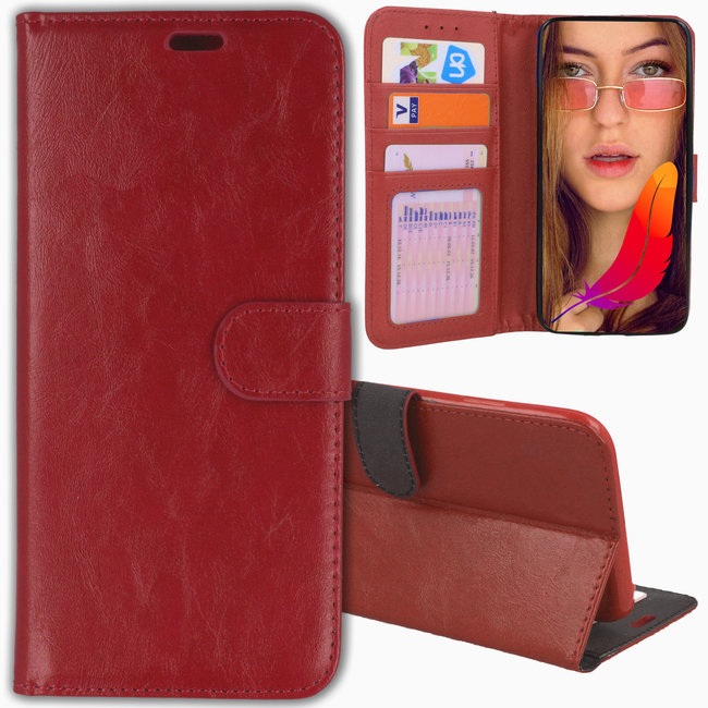MSS Samsung Galaxy S8 TPU/Cushion Leather Book Case