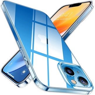 MSS Apple iPhone 13 TPU Transparant siliconen
