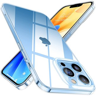MSS Apple iPhone 13 Pro Max TPU Transparent Silicone