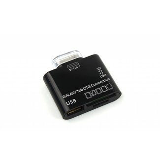 5 in 1 Galaxy Tab OTG Connection Kit Card Reader