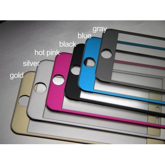 Tempered Glass with Aluminum Metal Frame IPhone 6 Plus