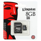 8GB Kingston Micro SD Card Class 10