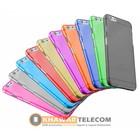 Gennemsigtig silikone farverig taske IPhone 5C
