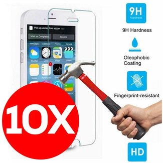 10X  Tempered Glass Screen Protector Galaxy J3( 2016 )