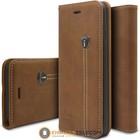 iHosen Leather Book Case IPhone 7 Plus / 8 Plus