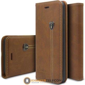 Etui portefeuille en cuir iHosen IPhone 7/8 Plus