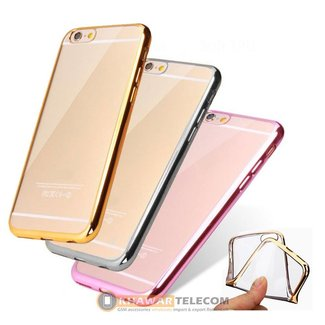 Deluxe Plating Silicone Case IPhone 6 / 6S