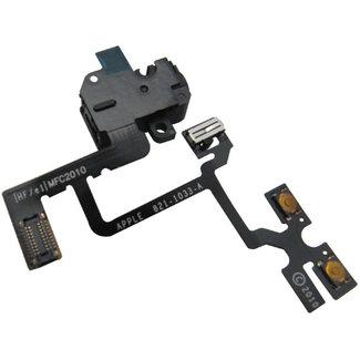 Jack audio module & volume buttons Flex IPhone 4G