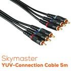 Skymaster YUV-Anschlusskabel 5m