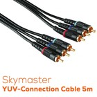 Skymaster YUV Connection Cable 5m