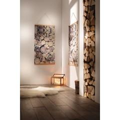 """Wandbild """"Baumstämme"""", 60 x 110 cm"""