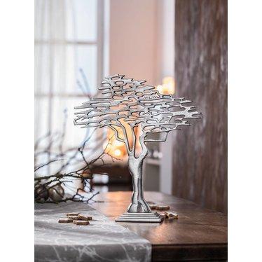 """Skulptur """"Silver-Tree"""""""