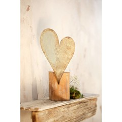 """Deko-Objekt """"Rusty Heart"""""""