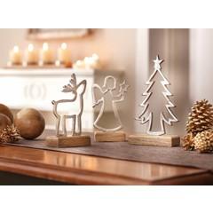 """Weihnachtsfiguren """"Silhouette"""", 3er Set"""