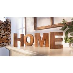 """Deko-Buchstaben """"Home"""", Höhe 15 cm"""