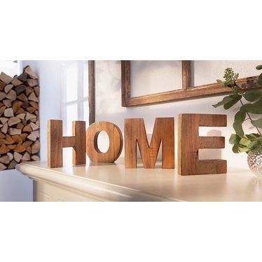 "Deko-Buchstaben ""Home"""
