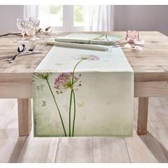 """Tischläufer """"Kleeblüten"""",  40 x 150 cm"""