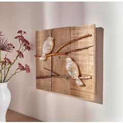 "Wandbild ""Two Birds"", Unikat"