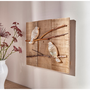 "Wandbild ""Two Birds"""