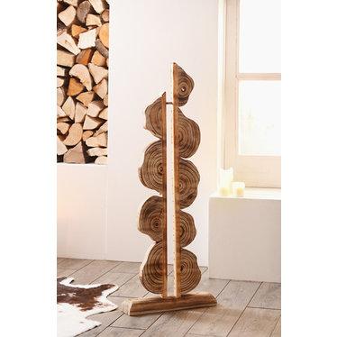 "Dekorative Holzskulptur ""Artwork"""