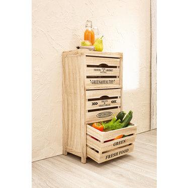 """Küchen-Vorratsregal """"Fruits & Vegetables"""""""