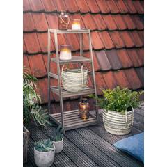 Leiter-Regal, 4 Ablageflächen