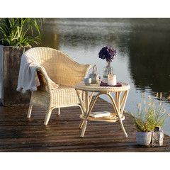 "Rattan-Sessel ""Swing"", naturfarben"