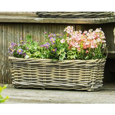 """Blumenkasten """"Rattan"""", klein"""