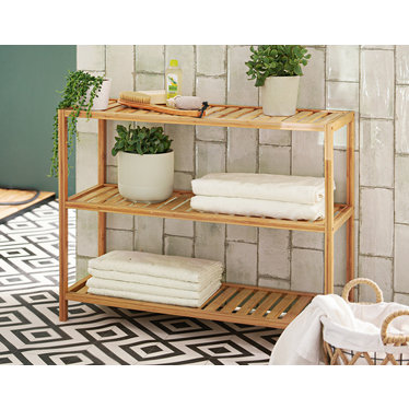 "Regal ""Bamboo"", 80 cm breit"