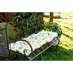 """Dicke Sitzauflage """"Wildblumen"""", 120 x 40 cm"""