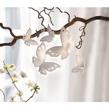 "Hängedeko ""Butterfly"", 5er Set"