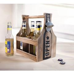 """Flaschenträger """"Open"""", mit Öffner"""