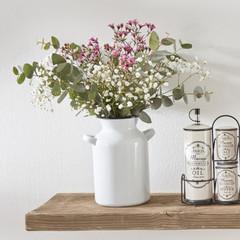 """Emaille-Vase """"Kruik"""""""