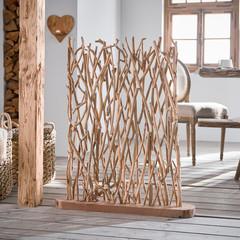 """Holzskulptur """"Zweig"""", 90 cm"""