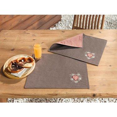 """Tisch-Set """"Edelweiß"""", 2er Set"""