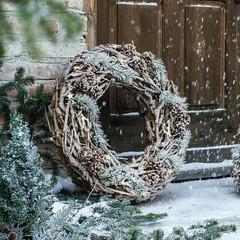 """Kranz """"Winter Charme"""" D 70 cm"""