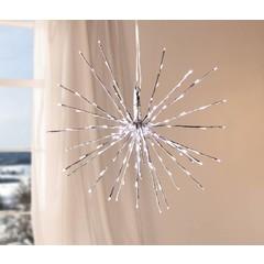 LED-Weihnachtsstern, silbern AUSVERKAUFT