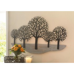 "Wall Decor ""Metal Tree"", 100 x 59 cm"