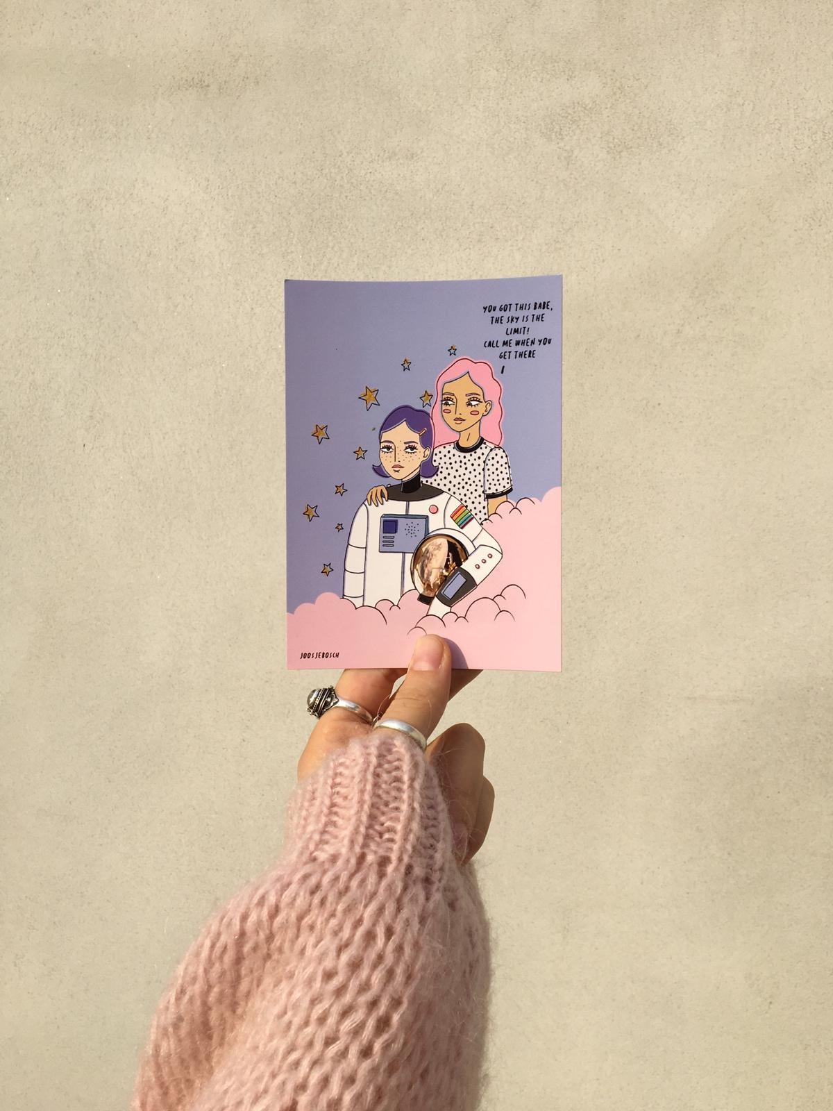 VNTG x JOOS postcard