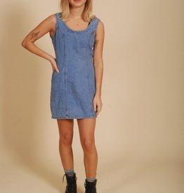 90's Denim Bodycon dress