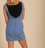 90's Denim Bodycon dress