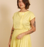 80's Yellow Dress