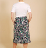 70's Button Front Skirt