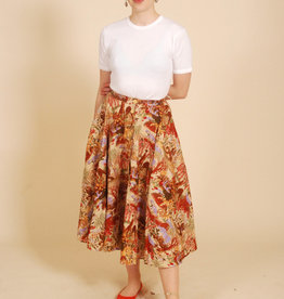 Cotton Print Skirt