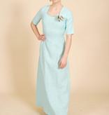 80's Blue Dress
