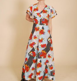 70's Floral Dress