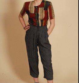 Cool 80s polka dot trousers